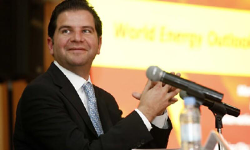 Jordy Herrera, titular de la Sener, busca reunirse con los directivos de la española Repsol. (Foto: Archivo Notimex)
