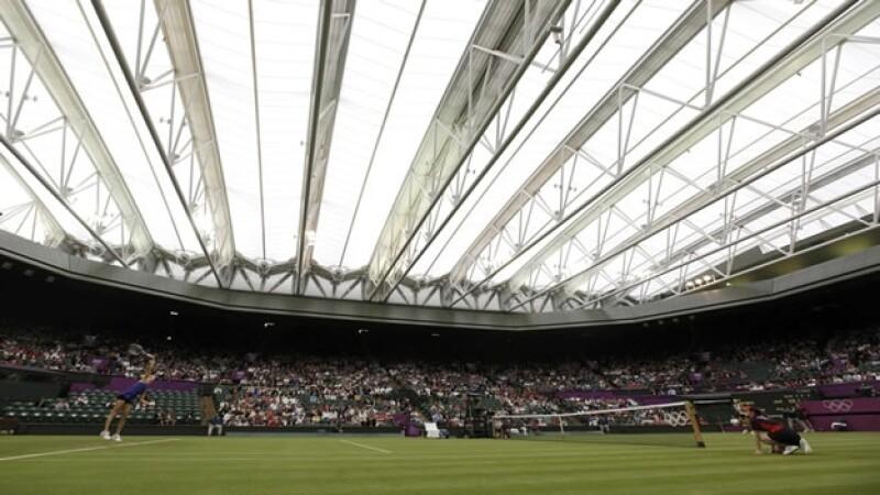 tenis londres 2012 wimbledon techo lluvia