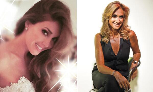 Anahí y Adela Micha