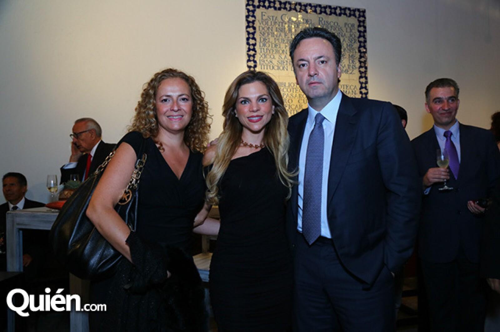 Gabriela Muñoz, Ivonne Chain y Federico Martínez
