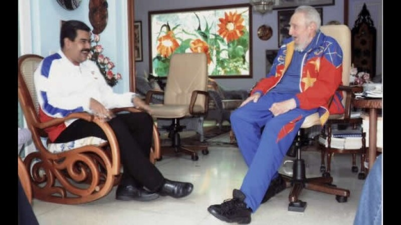 Nicolás Maduro Fidel Castro Habana