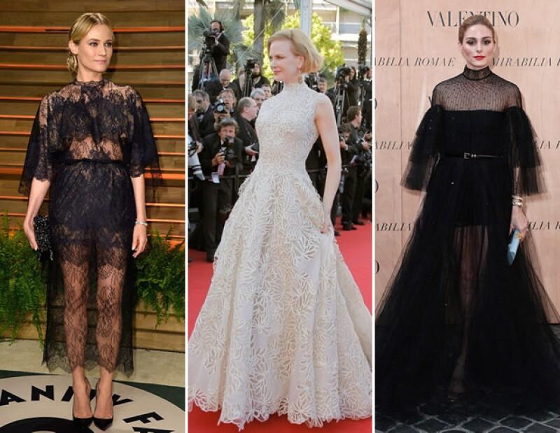 Diane Kruger, Nicole Kidman y Olivia Palermo son algunas de las A listers que no dudaron en llevar las creaciones de Maria Grazia Chiuri y Pierpaolo Piccoli a las alfombras rojas.