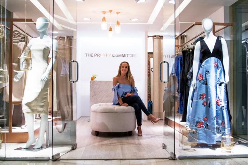 Platicamos con María Tricio, dueña de la boutique, quien con solo 22 años, inaugurará este original concepto el próximo 7 de septiembre.