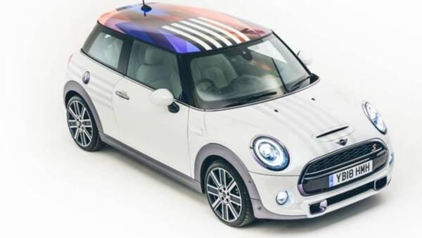 Mini Cooper diseñado para  Meghan Markle y el príncipe Harry