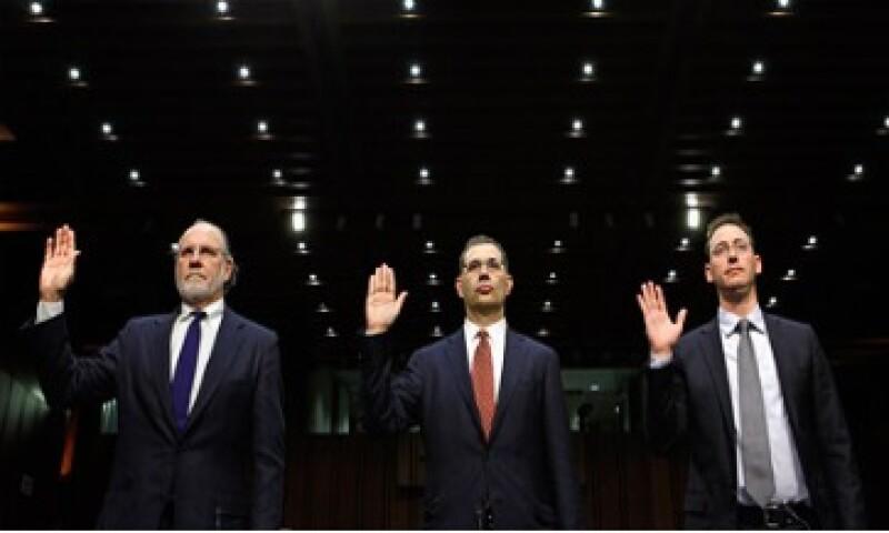 """Corzine dijo al Senado que él """"no tenía razón para creer"""" que los fondos de los clientes habían sido mal empleados. (Foto: Cortesía CNNMoney)"""