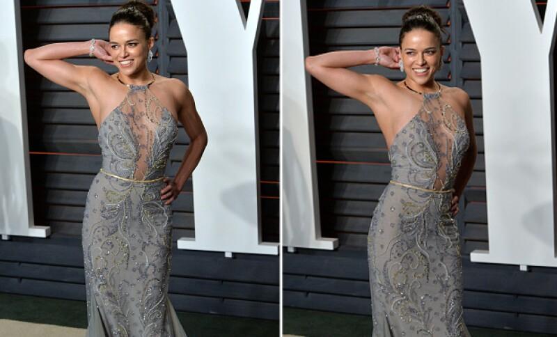 La actriz decidió deshacerse del vello axilar para los Oscar.