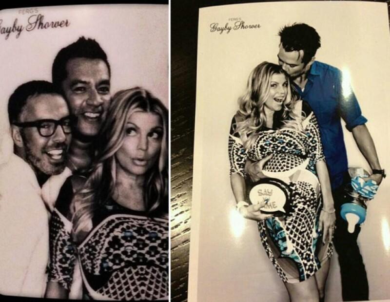 La cantante y su esposo Josh Duhamel celebraron la próxima llegada su bebé en compañía de amigos y varios drag queens quienes se encargaron de amenizar la fiesta.