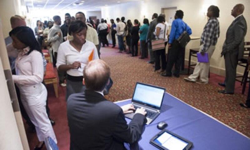 El viernes se dará a conocer la cifra de creación de empleo de julio. Foto: AP)