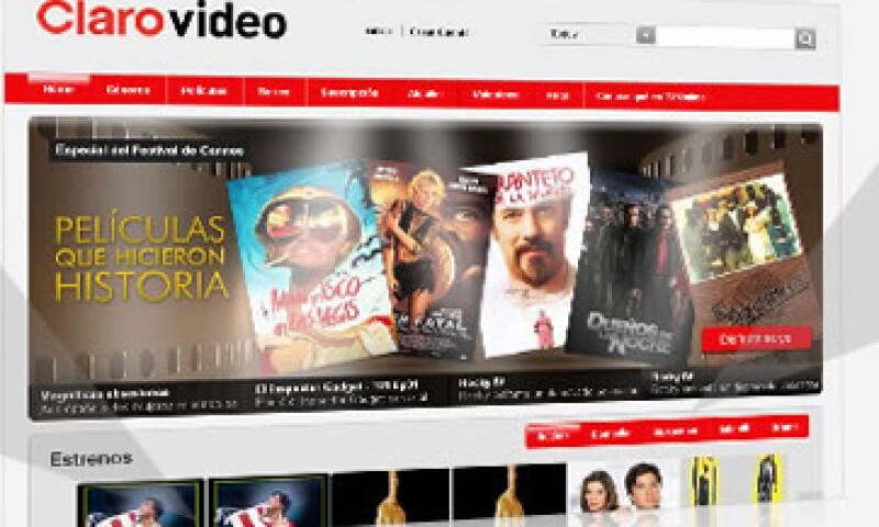 Clarovideo ofrecerá el contenido de DLA, firma de contenidos de televisión de paga que adquirió América Móvil en enero de 2012. (Foto: Tomada de clarovideo.com.co)
