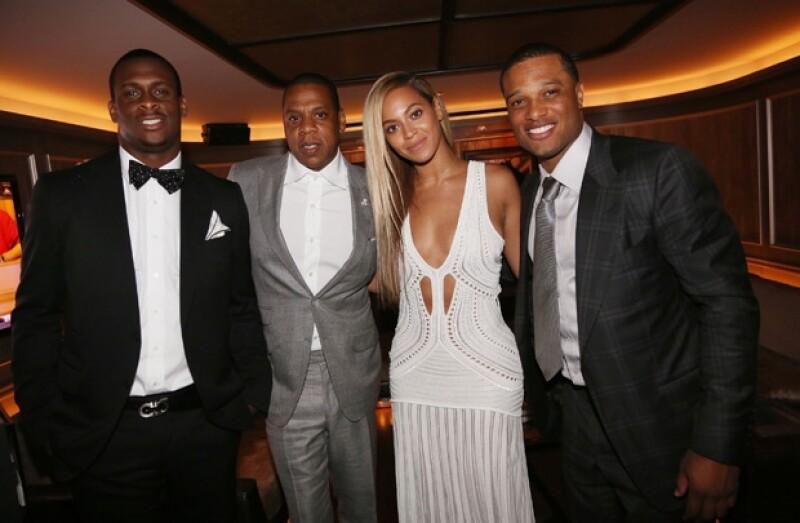 Geno Smith, Jay-Z, Beyonce y Robinson Cano.