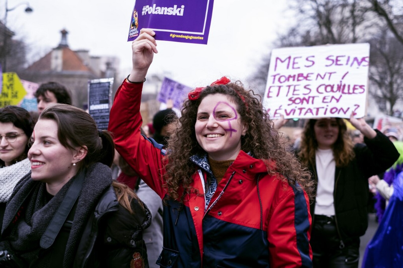 FRANCE - FEMINIST DEMONSTRATION ON 8 MARCH