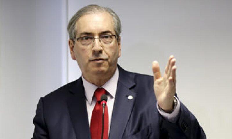 El fiscal general de Brasil presentó los cargos contra Cunha ante la Corte Suprema. (Foto: Reuters )