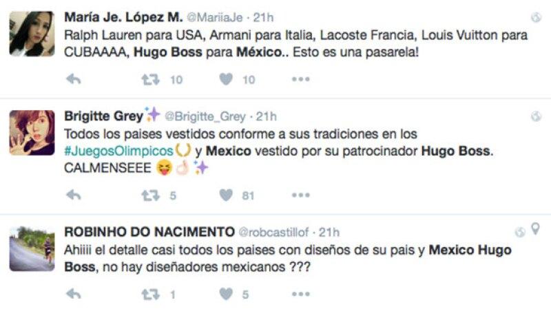 Los usuarios de Twitter mostraron su descontento.