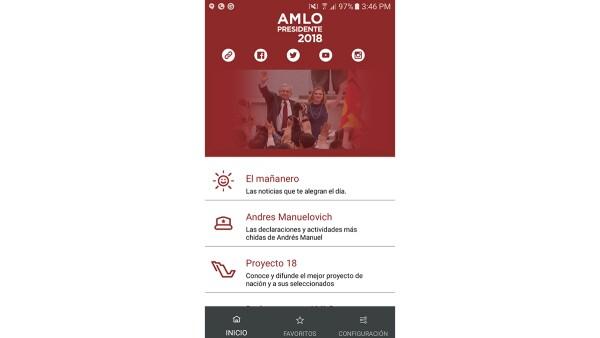 'AMLO2018' .