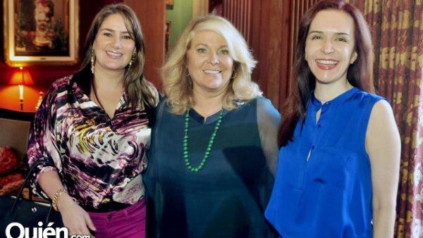 Alejandra Hinojosa de Gutiérrez, Liliana Melo de Sada y Tete López de Jaime