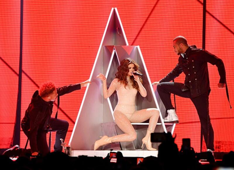 La cantante inició su gira en Las Vegas.