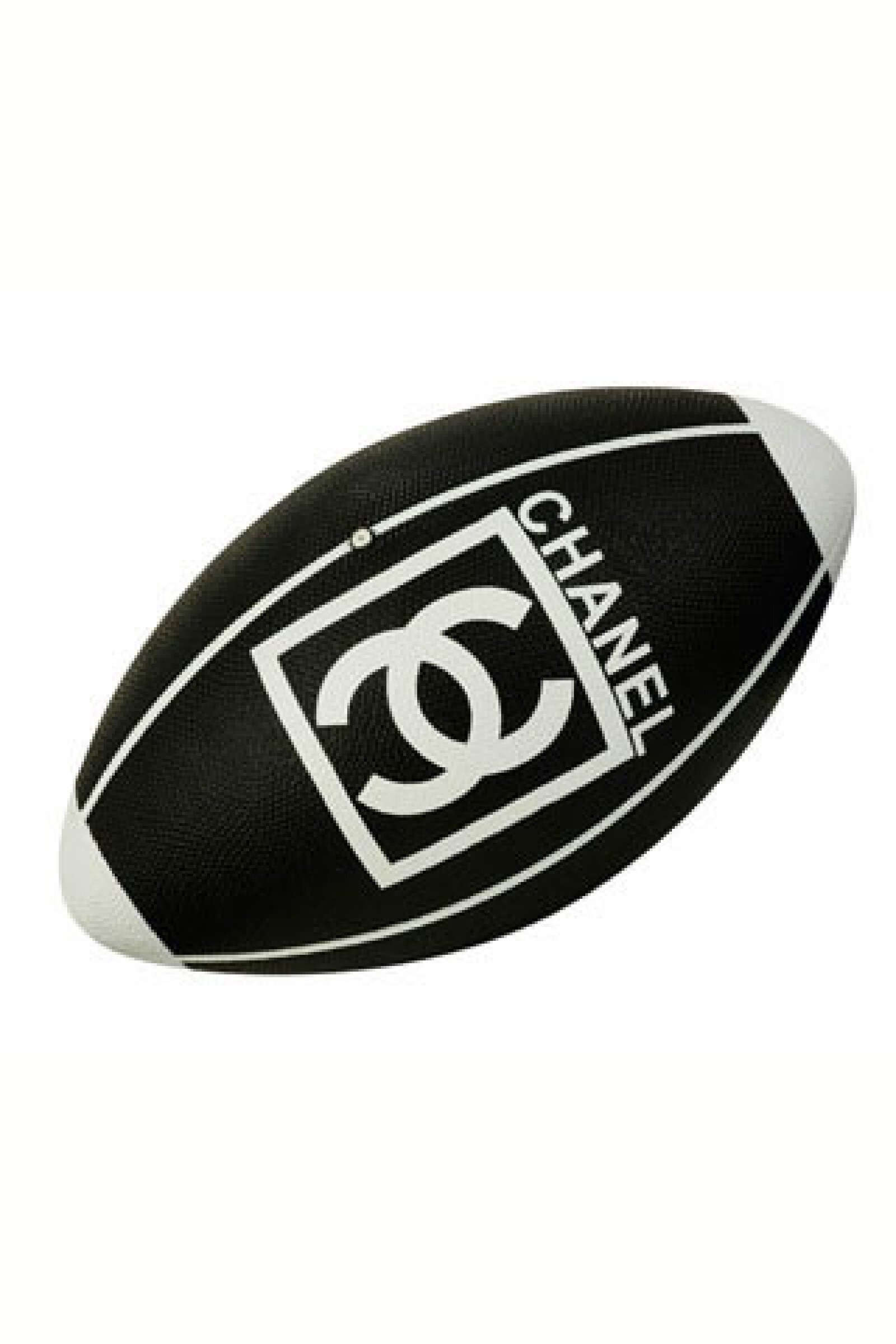 Balón de rugby monocromático.