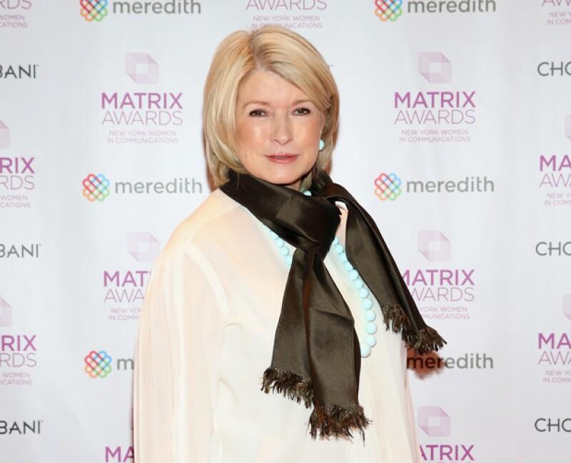 Martha tuvo que cumplir su condena después de ser declarada culpable por fraudes.