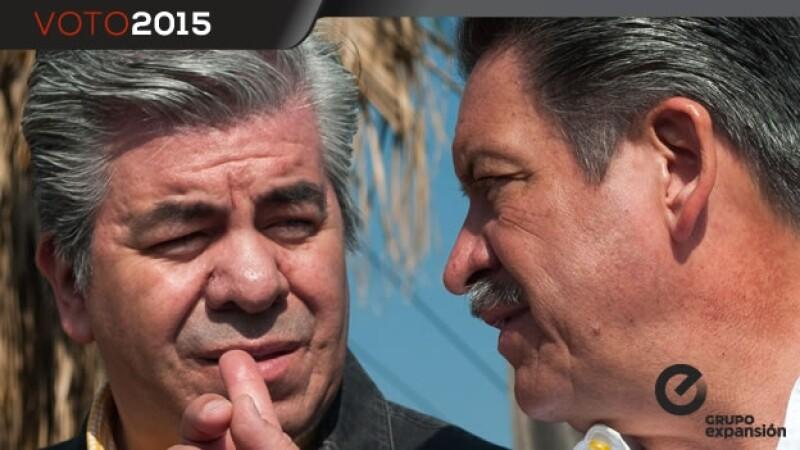 Raúl Flores y Carlos Navarrete