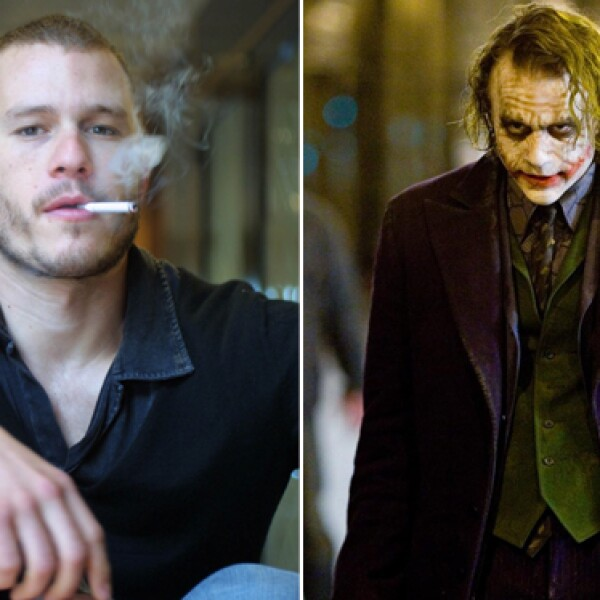 Heath Ledger se consagró en su carrera interpretando a The Joker. El maquillaje no lo fue todo, la actitud que le dio al papel fue impecable.