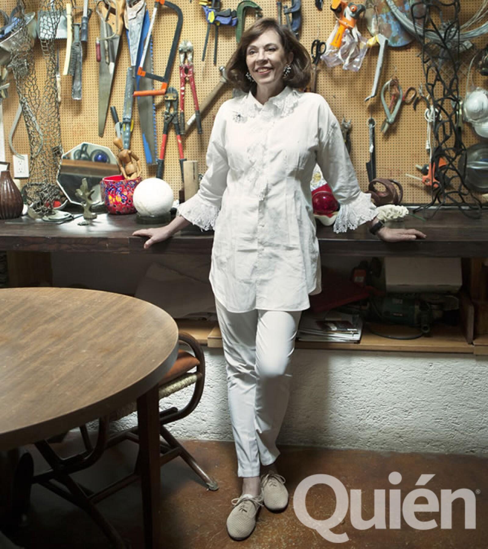 Yvonne Domenge, escultora. Sus esculturas se han fijado en la memoria de habitantes de varias ciudades del mundo.