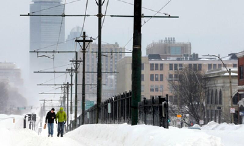 Boston acumuló 40 centímetros de nieve este fin de semana. (Foto: Reuters )