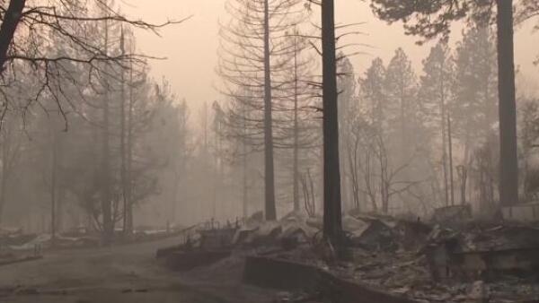 Este incendio en California ya es considerado el más mortal en el estado