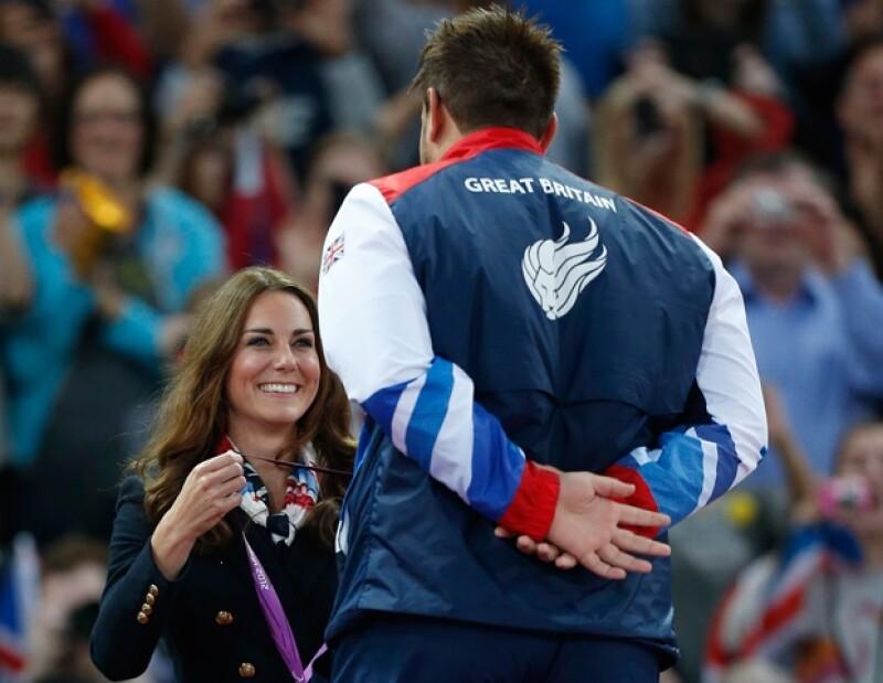 Mehrdad Karam Zadeh se negó a saludar a la duquesa de Cambridge, tras entregarle la medalla de plata en los Juegos Paralímpicos Londres 2012.
