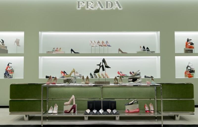 Un espacio celestia para cualquier amante de los zapatos.