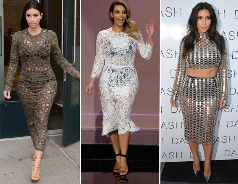 La socialité se ha inclinado por la tendencia de mostrar su ropa interior en notorios contrastes dejando muy poco a la imaginación.