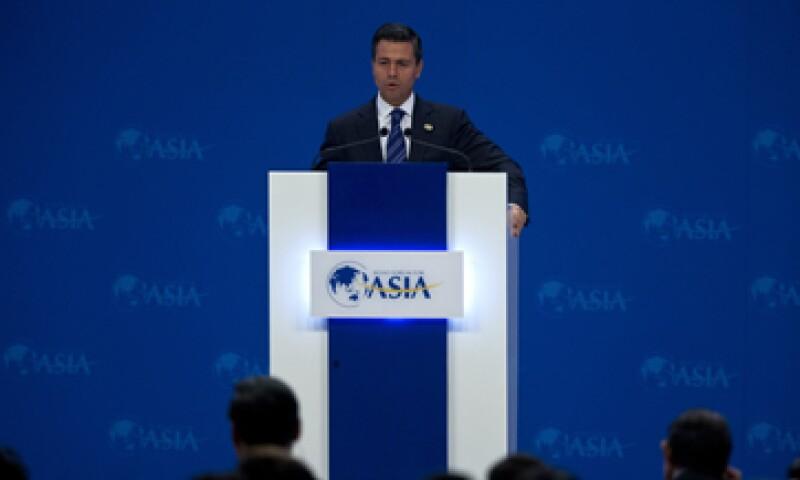 Peña Nieto es el primer presidente mexicano en participar en el Foro Boao para Asia. (Foto: AP)