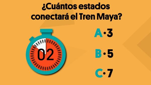¿Cuántos estados conectará el Tren Maya? | #Crono