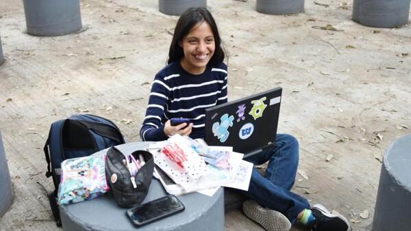 estudiante premiada UNAM