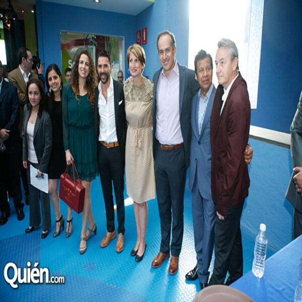 Claudia Arroyo,Alejandra Pastrana,Pepe Bastón,Dolores Beistegui,Mauricio Carrandi,Elias Rodríguez,Christian Mouir