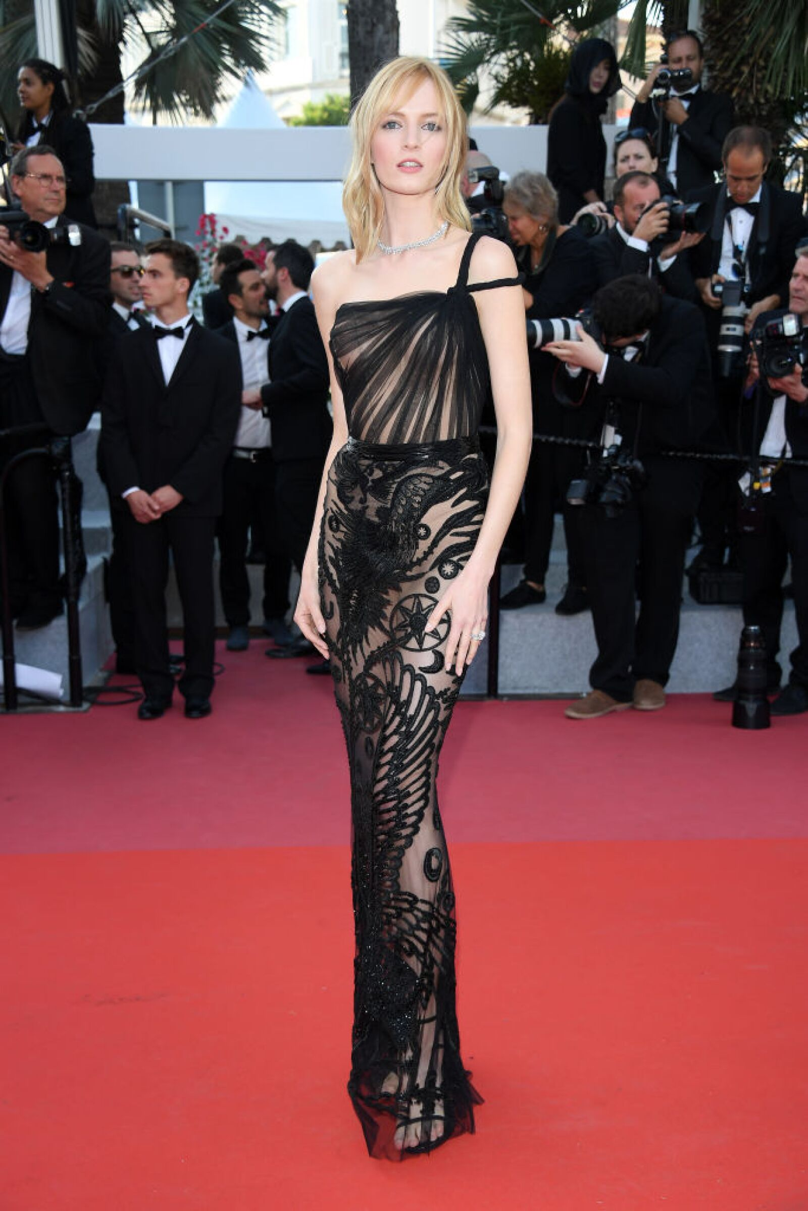 """""""Ash Is The Purest White (Jiang Hu Er Nv)"""" Red Carpet Arrivals - The 71st Annual Cannes Film Festival"""