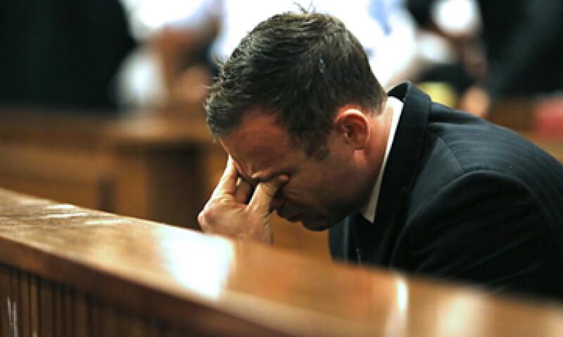 Oscar Pistorius fue acusado de homicidio involuntario. (Foto: AFP)