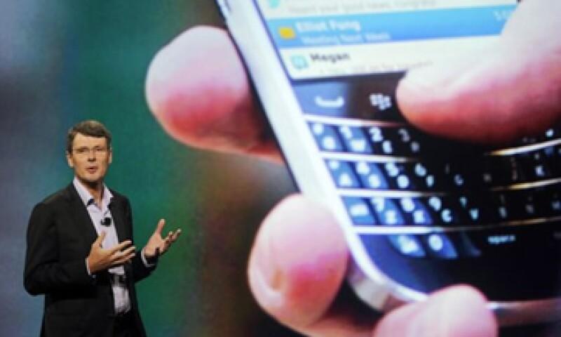BlackBerry controlaba 46% del mercado de smartphones en Estados Unidos, para 2012 la cifra se desplomó a 2% (Foto: Reuters)