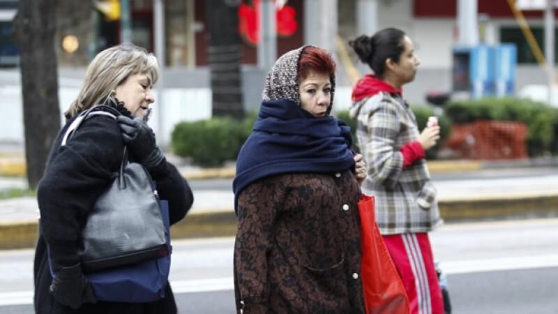 frío temperaturas México