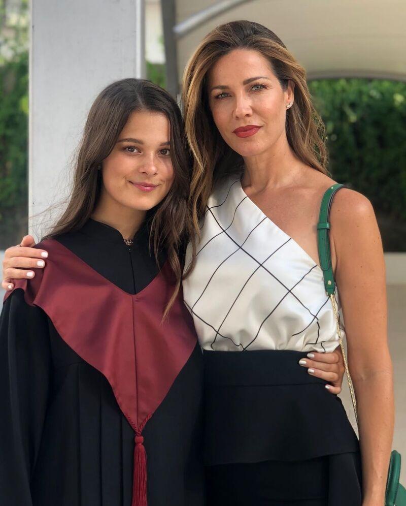 Jaydy Michel y Manuela Sánchez