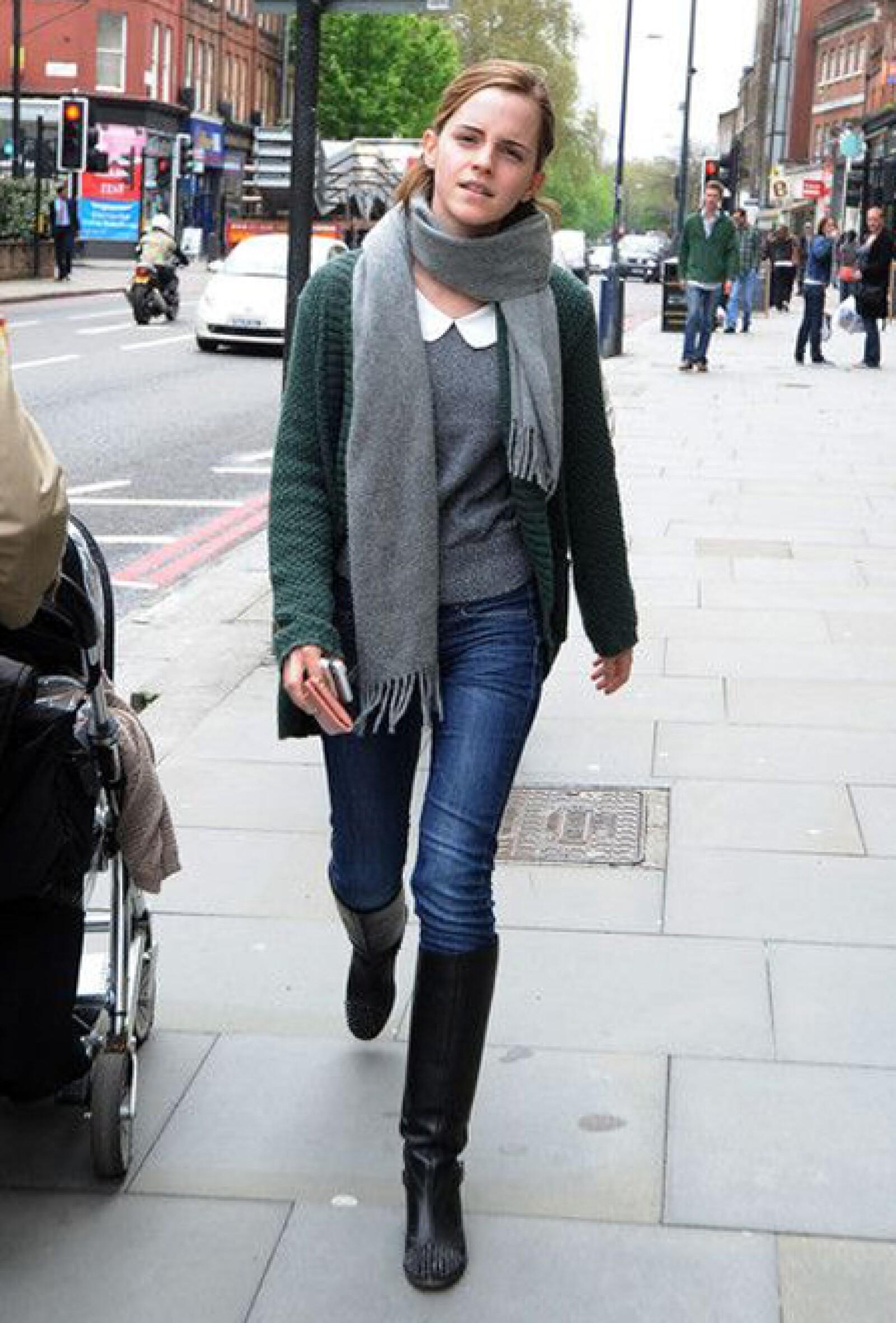 La joven, de 22 años, tiene un estilo edgy-chic.