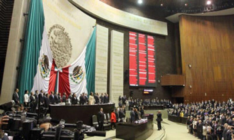 Los diputados esperan la entrega del Paquete Económico a más tardar el 8 de septiembre (Foto: Notimex)