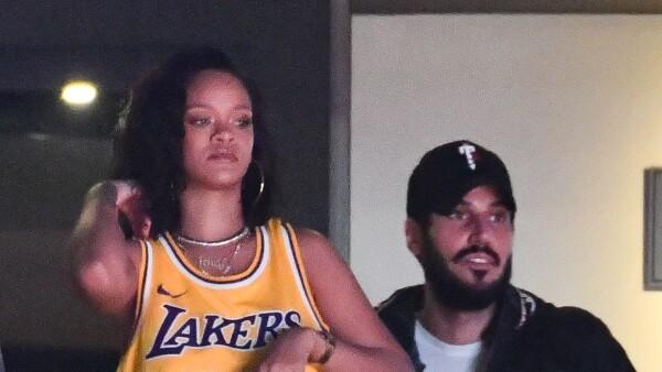 Rihanna y su novio Hassan Jameel