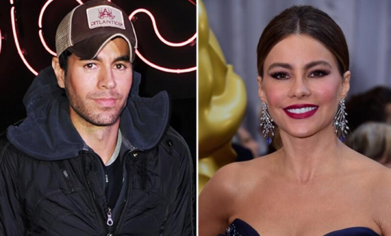 La supuesta relación entre Sofia y Enrique Iglesias jamás fue corroborada. Solo se quedó en un rumor.