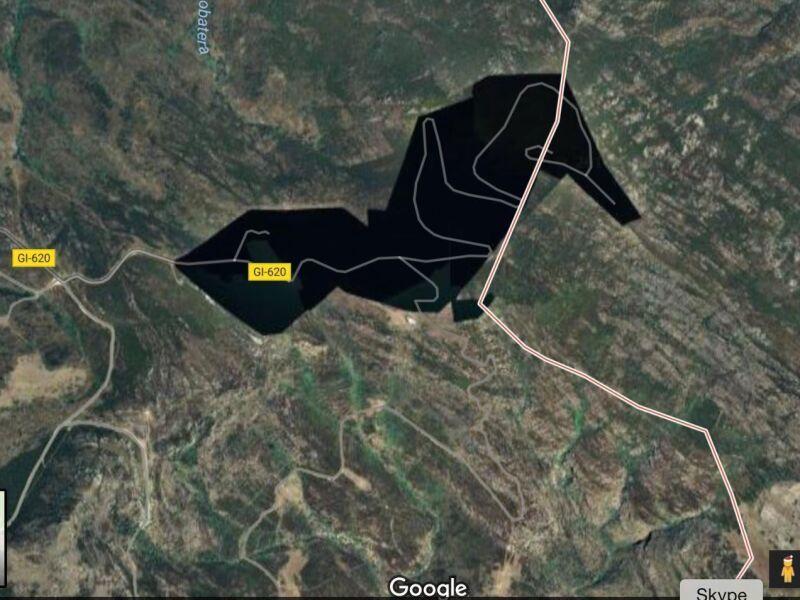 lugares que esconde google maps