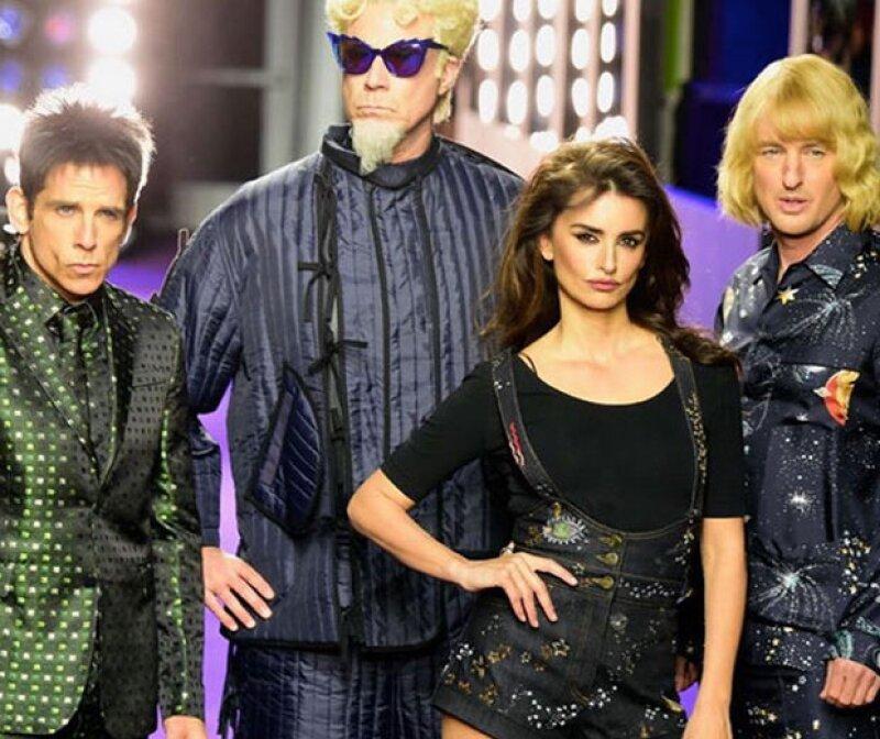 Los protagonistas de Zoolander sorprendieron en New York Fashion Week.