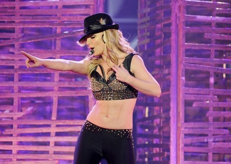 Britney inauguró la noche de ayer los dos años de presentaciones firmadas con Planet Hollywood de Las Vegas.