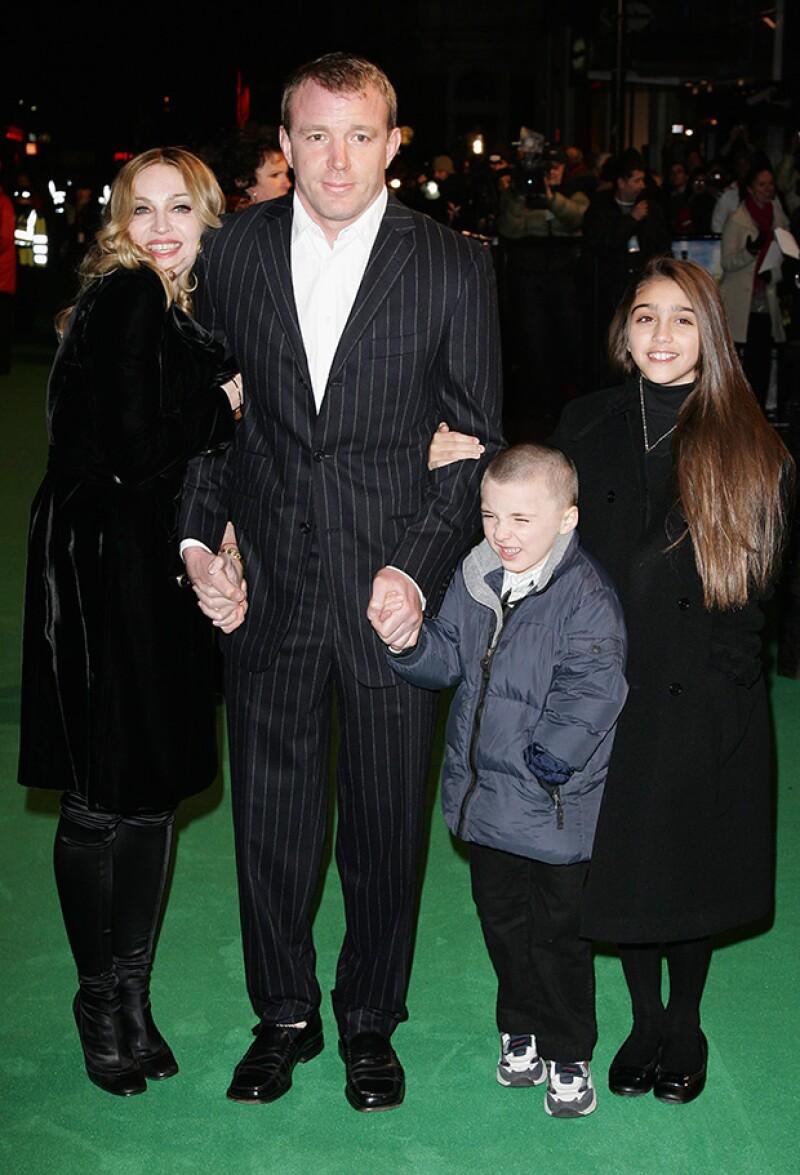 Rocco, segudo hijo de la Reina del pop, nació cuando ella ya rebasaba los 40.