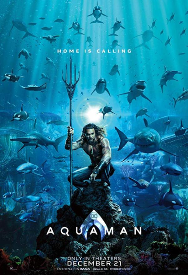 Primer póster de Aquaman