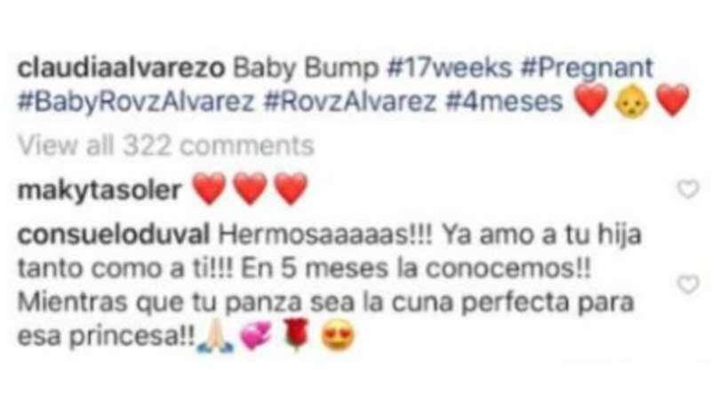Instagram de Claudia Álvarez