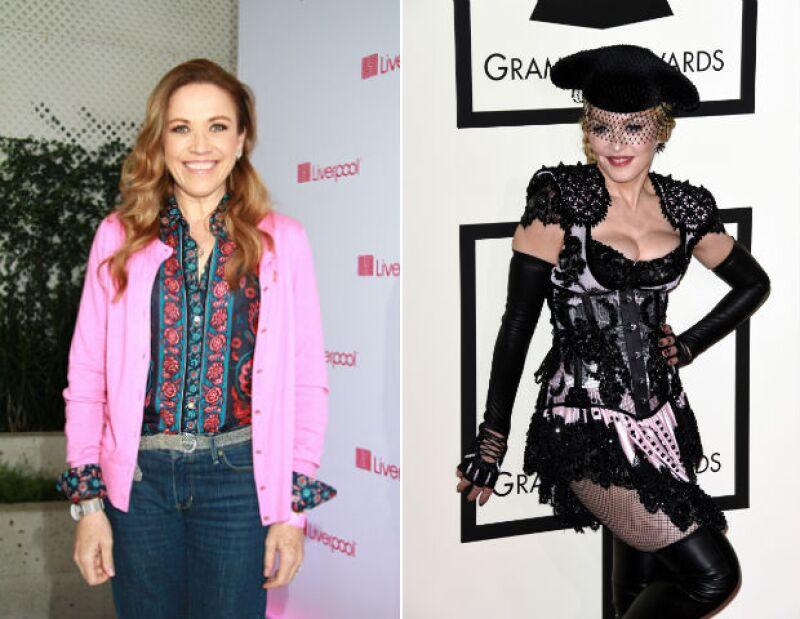Laura Luz está a favor de sagas como ésta y Madonna pareció nada sorprendida con la novela.